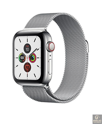 Đồng hồ Apple Watch Series 5 44mm, Stainless Steel with Milanese Loop MWW32